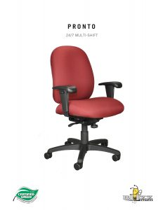 Buzz Seating Pronto Heavy Duty Multi-Shift Task Chair Brochure Cover